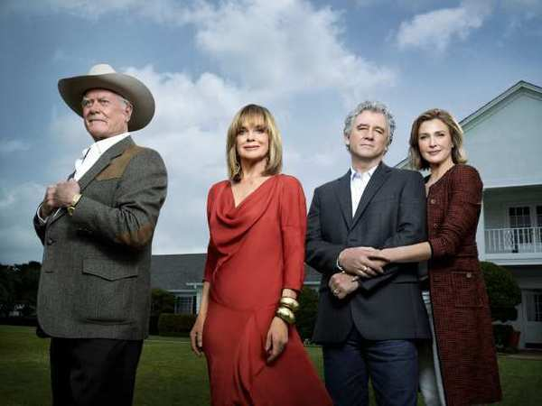 "The death of Larry Hagman, in cowboy hat, has left the future of TNT's ""Dallas"" uncertain."