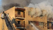 Extra-alarm fire on Far South Side. Nuccio DiNuzzo, Chicago Tribune