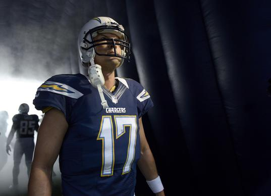 San Diego Chargers quarterback Philip Rivers absolutely dissected the Ravens' defense last season, and he didn't even need a scalpel. Just a strong throwing arm to deliver shots downfield as he connected on 17 of 23 passes for 270 yards and a touchdown.<br>