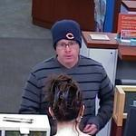 man wanted in PNC Bank robbery in Buffalo Grove.