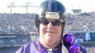 "For nine years, Bobby Nyk didn't miss a single Ravens game, home or away. That home streak is impressive enough, but it was all those away games that earned him the nickname ""The Ravens Road Warrior."""