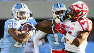 Terps show pride in season finale, but fall to North Carolina, 45-38