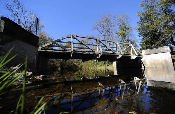 The Old Filetown Road bridge in Bushkill Township could be closed under a proposed three-year bridge repair/replacement plan in Northampton County. That bridge is the only access to Nazareth resident Ken Sigafoos' farmhouse. Under the plan, the county would close the bridge and build an alternate road for Sigafoos.