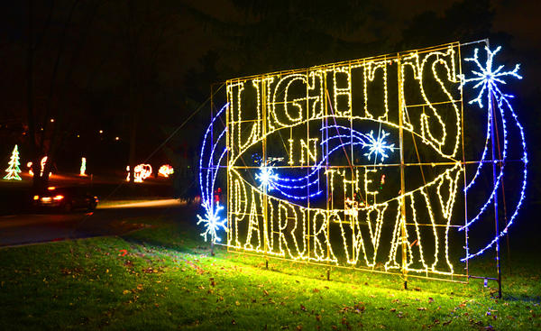 Allentown's 17th annual Lights in the Parkway features hundred of pieces and many featuring LED for a more energy saving display. The theme celebrates Bells Will Be Ringing: Allentown's Turing 250!  The drive-through light display stretches for more than a mile through Lehigh Parkway. For more info please visit www.lightsintheparkway.com