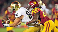 Photos: Notre Dame football in action