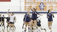 All season long, Karlee Riggs has been a reliable force for the Orange Coast College women's volleyball team.