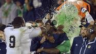 No. 1 Notre Dame headed to national title game after stopping USC