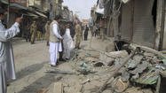 ISLAMABAD, Pakistan — A bomb blast in northwest Pakistan killed five people and injured 70 others Sunday, provincial and local authorities said, the latest in a wave of attacks that have struck the country's minority Shiite Muslim community despite a host of stringent security measures, including wide-scale cellphone service bans and prohibitions on motorcycle riding in several cities.