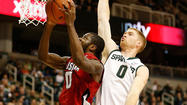 EAST LANSING, Mich. -- Keith Appling scored 19 points, Branden Dawson had 12 and the 15th-ranked Michigan State Spartans held on to beat the Louisiana Ragin' Cajuns, 63-60, at the Breslin Center.