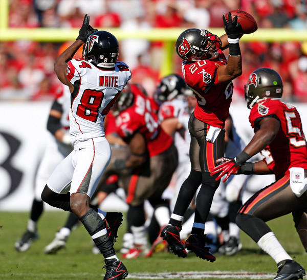 The Tampa Bay Buccaneers vs. the Atlanta Falcons.
