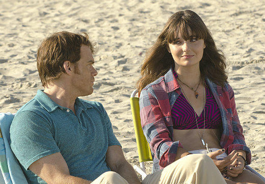 'Dexter' Season 7: Best & worst: Dexter reunites with his stepkids, Astor and Cody.