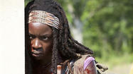 'Walking Dead' star Danai Gurira: Michonne, Rick and PTSD