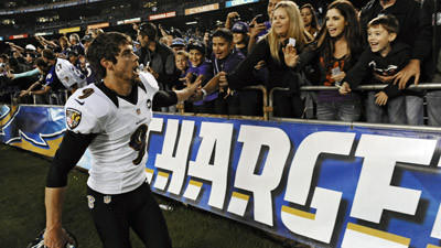 Ravens pull out 16-13 win in overtime over Chargers