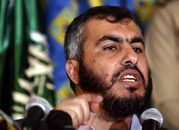 Hamas' deputy foreign minister, Ghazi Hamad, seen as one of the Palestinian organization's moderate voices, spoke with the Los Angeles Times about the impact of the recent clash with Israel.