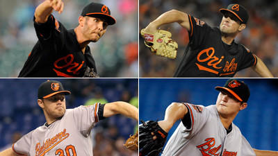 Which member of Orioles' cavalry would you trade?