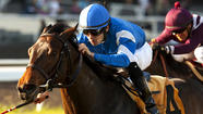 Longshot wins Matriarch at Hollywood Park as favorite has trouble