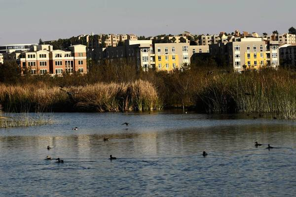A portion of Playa Vista overlooks the Ballona Wetlands. The 1,000-acre community already has more than 3,200 residences and 2 million square feet of offices.
