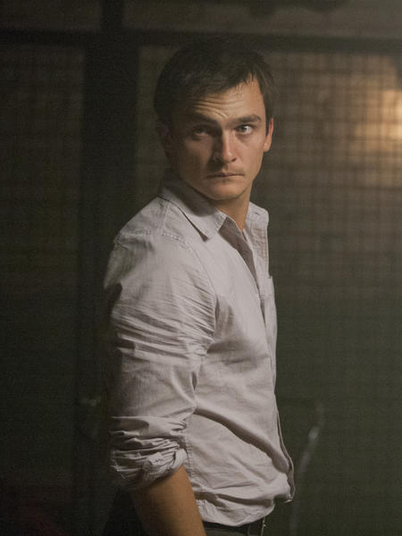 Rupert Friend as Peter Quinn in Homeland (Season 2, Episode 9.