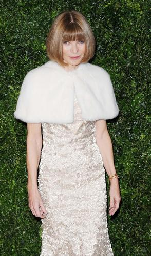 Anna Wintour, editor in chief of American Vogue.