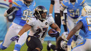 Ravens and Chargers react to Ray Rice's big play