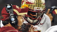 "TALLAHASSEE/ORLANDO -- Florida State coach Jimbo Fisher said Monday morning to take his name off the coaching search message boards and blogs. During an interview with <em>Orlando Sentinel </em>sports columnist Mike Bianchi on 740 AM ""The Game,"" Fisher said leaving FSU was extremely far from the forefront of his mind."