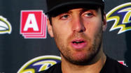 VIDEO Ravens QB Flacco talks about win over Chargers