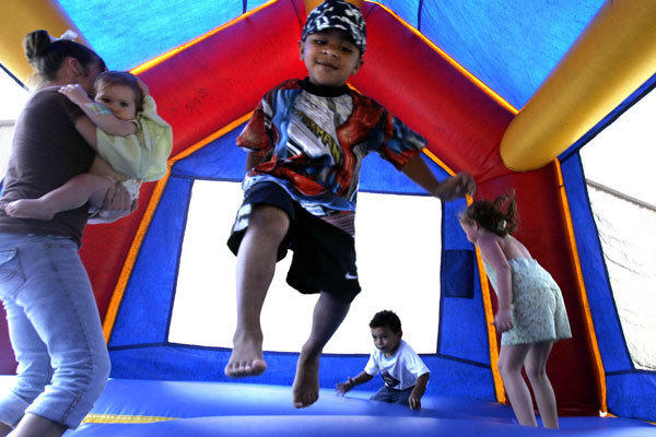 A nationwide study found inflatable bounce houses can be dangerous and the number of kids injured in related accidents has soared in recent years.