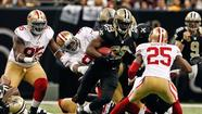 New Orleans Saints, vs. San Francisco 49ers
