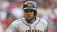 San Francisco Giants outfielder Melky Cabrera, suspended for 50 games (the final 45 games of the regular season and the five-game division series) last season because he tested positive for performance-enhancing drugs during the season, is almost $400,000 richer today.