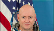 A former Navy fighter pilot who spent several years at Oceana Naval Air Station in Virginia Beach in the 1990s has been selected for a year-long mission aboard the International Space Station.