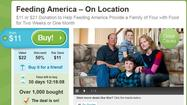 #GivingTuesday Groupon: Feeding America