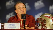 TALLAHASSEE -- Florida State coach Jimbo Fisher took accountability Monday afternoon for having his team ill-prepared to face Florida this past weekend. His quarterback, EJ Manuel, said the blame for Saturday's 37-26 rivalry loss fell at his own feet.