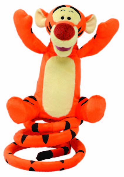 "Your kids won't be able to stop pressing the button to make Tigger bounce and sing to the classic hip-hop version of his signature theme song. His infectious laugh will have everyone in the room up off the couch and dancing along. Also from Deerfield Beach-based Just Play and available at Amazon and Toys ""R"" Us. Justplaytoys.com"