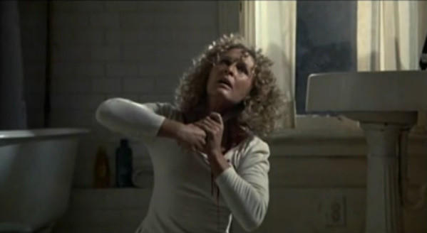 "Glenn Close in a scene from the original ending of ""Fatal Attraction."""