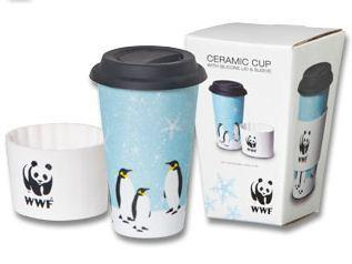 Receive this eco-friendly thermal porcelain cup for a donation of $50. Proceeds benefit WWF. (http://gifts.worldwildlife.org/gift-center/)
