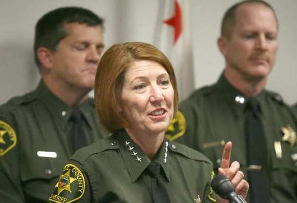 Orange County Sheriff Sandra Hutchens, seen here in 2009
