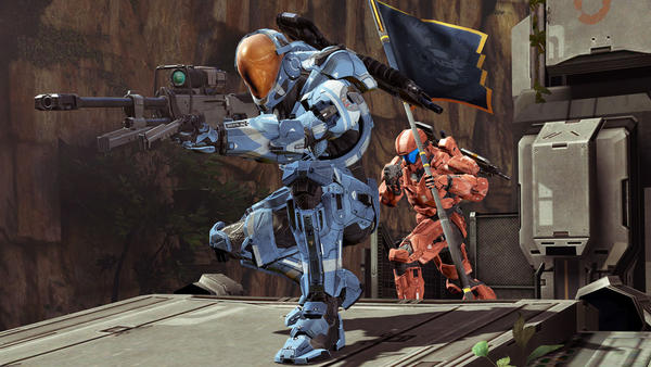 "A ""Capture the Flag"" battle in this year's eagerly-awaited installment of ""Halo 4."
