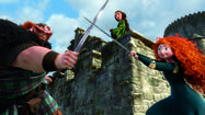 "The animated feature ""Brave"" debuted at the top of the DVD sales chart, but couldn't knock ""The Amazing Spider-Man"" from the top of the rental chart."