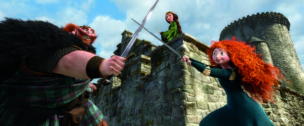 """Brave"" debuted as the top-selling DVD and Blu-ray disc in the U.S."
