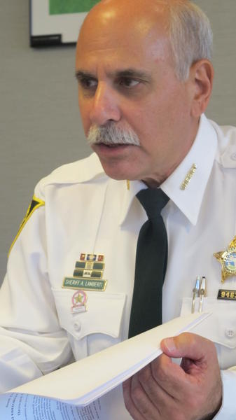 Sheriff Al Lamberti leaves office in January
