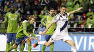 Galaxy forward Robbie Keane and team captain Landon Donovan were named Monday to Major League Soccer's First XI, the league's postseason all-star team.