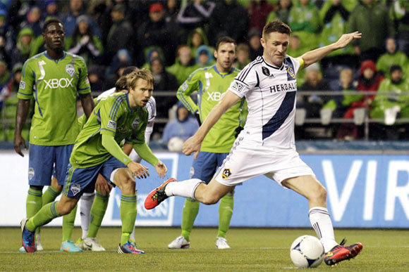 Galaxy forward Robbie Keane finished fourth in the league in scoring with 16 goals before making five more in the playoffs last season.