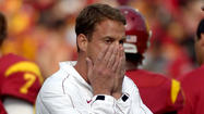 The USC Trojans, ranked No. 1 in this year's preseason Associated Press poll, have dropped all the way to No. 6 . . . in the state.