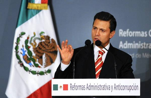 Mexican President-elect Enrique Pea Nieto plans to eliminate the Public Security Ministry and transfer control of federal police to the Interior Ministry.