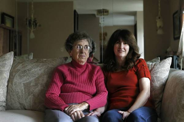 Hilde Loebe, 87, and her daughter, Ellen Siciliano, tried to get information on Medicare help after state officials approved it. The Department of Human Services didn't answer calls or return messages.
