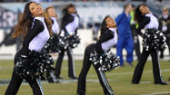 PICTURES: Cheerleaders and fans at Eagles vs. Panthers