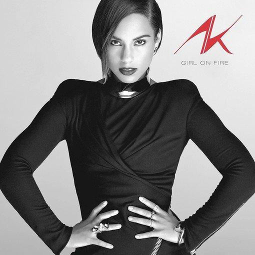 "Alicia Keys, ""Girl on Fire."""