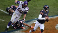 The player most responsible for keeping Jay Cutler clean Sunday was Jay Cutler.
