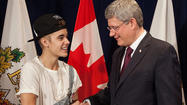 Justin Bieber blasted for PM meeting dress code