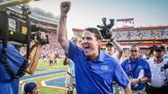 GAINESVILLE — Florida coach Will Muschamp is proud of the Gators and was quick to defend them against criticism from his old mentor.